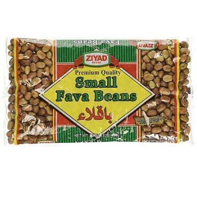 Ziyad Small Fava Beans, 16 OZ (Pack of 2)