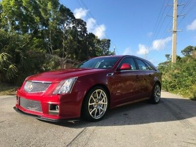 CTS  2011 Cadillac CTS-V Wagon 5dr Wgn 6.2L CRYSTAL RED SUPE