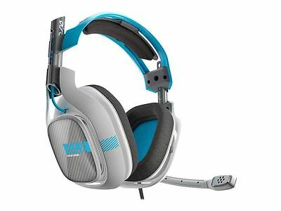 Original Astro Gaming A40 Gaming Headset (Gray/Blue) + Mixamp M80 for Xbox One