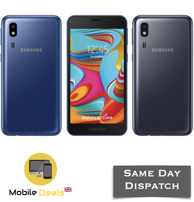 New Samsung Galaxy A2 Core 16GB Unlocked 4G LTE DualSIM Android Smartphone