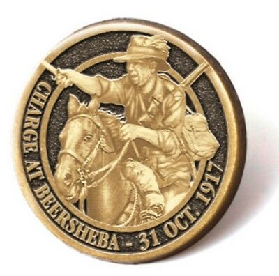 Charge at Beersheba Lapel Pin *Remembrance Day ANZAC *