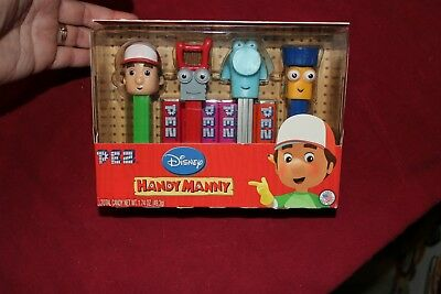 NIB PEZ Disney Handy Manny collection dispenser and candy free shipping