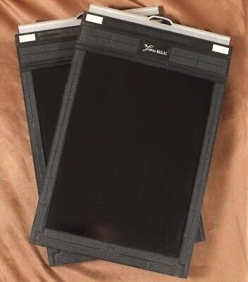 Set of Two Lisco Regal 5x7 Cut Sheet Film Holder Superb condition