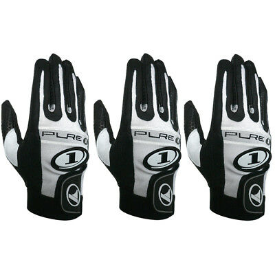 3 gloves ProKennex Pure 1 Black right hand LARGE racquetball glove three pack