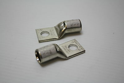 """T&B CTL300-12 Compression Lugs 1 Hole 1/2"""" Stud 300 KCMIL White (lot of 2) New"""