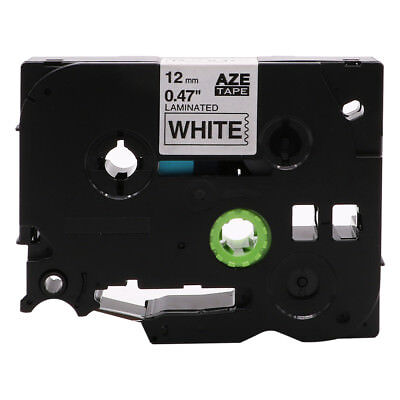 Black on White Label Tape Compatible for Brother TZe 231 P-Touch