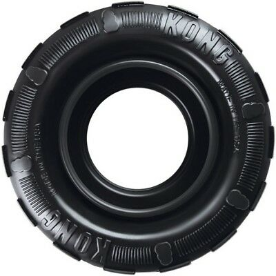 KONG Traxx Extreme Tough Rubber Durable Dog Tyre Power Chewer Tire Toy or Treats