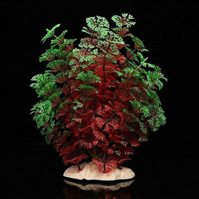 KF_Vivid Artificial Aquarium Fish Tank Plastic Fake Plant Grass Decoration