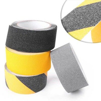1pc 5cm x 5m Floor Adhesive Stickers High Grip Tape Roll Non Skid Safety