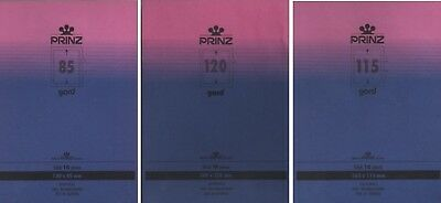 Prinz GARD Stamp Mounts for Blocks CLEAR backed - choice of sizes