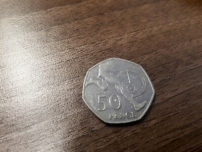 Rare 50p Coin 2004 4 Minute Mile Roger Bannister Quality Coin