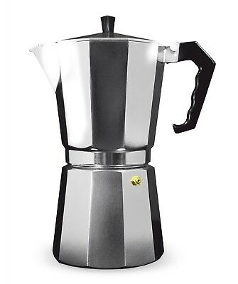 Grunwerg Cafe Ole Italian Style Stove Top Espresso Coffee Maker (various sizes)