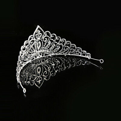 Bridal Bridesmaid Wedding Prom Crystal Rhinestone Diaman Crown Tiara Headband AU