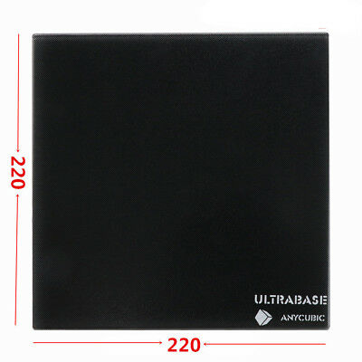*AU STOCK* Anycubic 220mm*220mm Ultrabase 3D Printer Platform Glass Bulid Plate