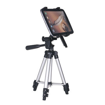 Adjustable Pro Tripod Stand Tablet Mount Holder Bracket For iPad Air Pro 2/3/4
