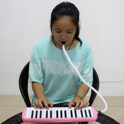 32 Piano Keys Melodica Musical Instrument for Music Lovers Beginners Gift w/ Bag