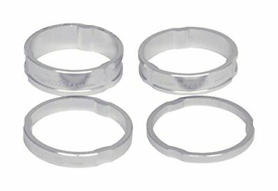 A2Z anodizzato Headset Stack Spacer, unisex, Anodized Headset, Silver, (s2e)