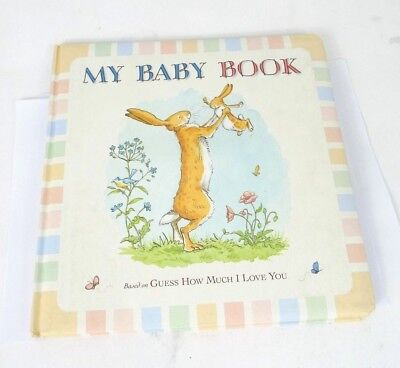 Guess How Much I Love You: My Baby Record Book (Hardcover) *Some Marks