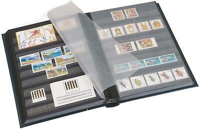 Prinz Classic stamp stockbook - black page - choice of sizes - large format