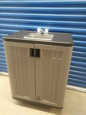 Portable Handwash Sink Self contained NSF Hot and cold Water 110V