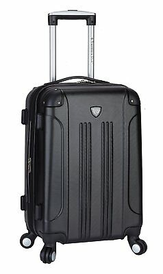 "Travelers Club ""Chicago"" 20"" Hardside Expandable Spinner Carry-On Luggage,Travel"