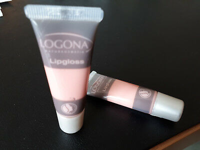 LOGONA LIPGLOSS Nr.02 rose 10ml