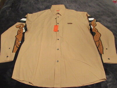 Nwt Vintage Iceberg History Scooby Doo Dress Shirt Made In Italy Xxxl Hip Hop