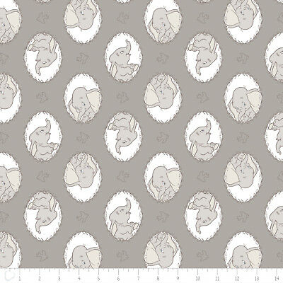$7.49//yard Dumbo and its many faces 43 inches wide 100/% Cotton Fabric