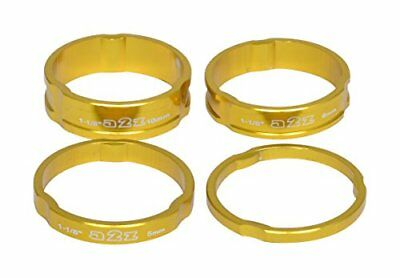 A2Z anodizzato Headset Stack Spacer, unisex, Anodized Headset, Gold, (t6Y)