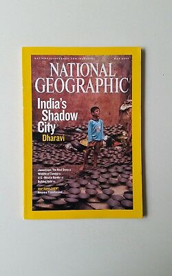 National Geographic - May 2007 - India's shadow city, Dharavi    T21