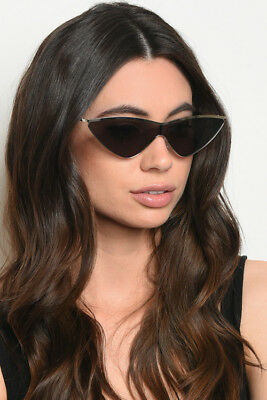 HOT Classic Cateye Clear Lens Sunglasses Retro Vintage Women Fashion Shades 2018