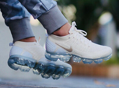 bb0b2a4b6f Nike Air Vapormax Flyknit 2 Cream / Gold Womens Ltd Edition Brand New In Box