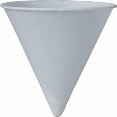 Solo Cup Company Cone Water Cups Cold Paper Four Ounces White 200 Per US SELLER