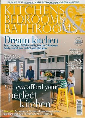 Kitchens Bedrooms & Bathrooms Magazine March 2018 ~ New ~