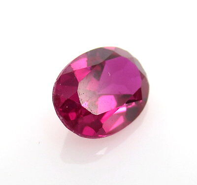 Fine 1.5ct 8 x 6mm Oval Ruby CZ Vivid Red July Gemstone Loose