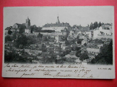 AVALLON  :  Le Village........VO.1905.