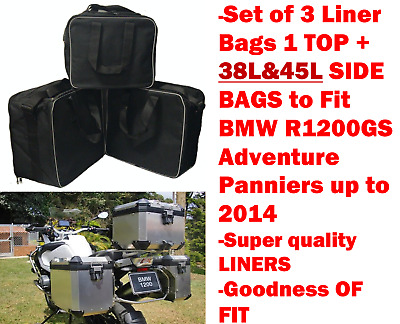 Pannier Liner Bags Inner Bags Side &top Bags For Bmw R1200Gsa &f800Gsa Adventure