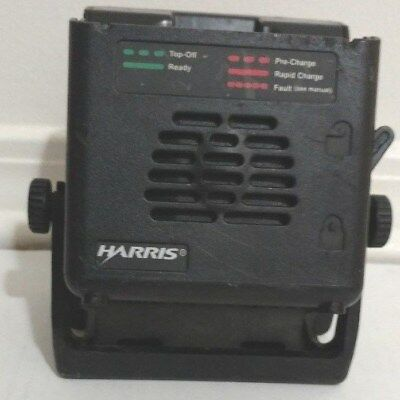 HARRIS VC4000 CHARGER FOR  P7100  P7200 P7300 With Mounting Bracket
