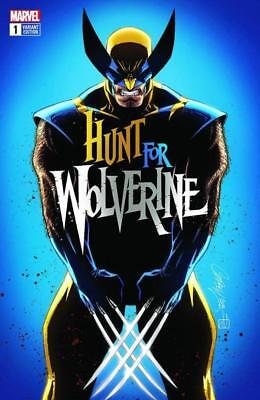 Hunt For Wolverine #1 J Scott Campbell Cover A Pre-Sale 4/25