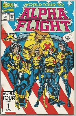 Alpha Flight #107 : Marvel Comics : April 1992