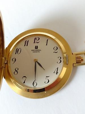 Vintage UNIVERSAL GENEVE 18K Gold Pocketwatch - Mechanical hand winding- Antique