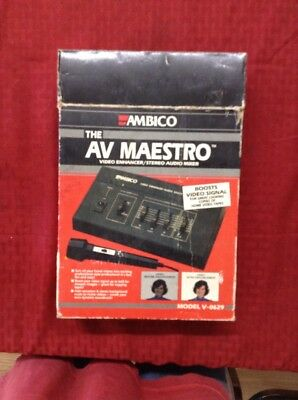 Ambico Av Maestro V0629 Video Enhancer Stereo Audio Mixer Reasonable Price Audio For Video