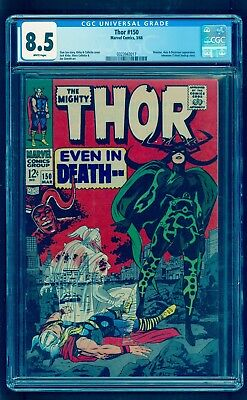 Thor #150 Cgc 8.5 (White Pages)  *** Hela Cover *** Under-Graded Looks Like 9.2