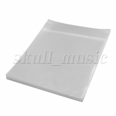 100PCS Thickening Plastic 12 Inches Square Vinyl Records Sleeve Cover