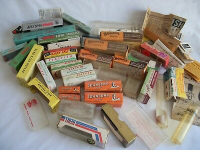 Vintage Mixed Lot of Fishing Lure Boxes, Bomber, Helin, Rapala
