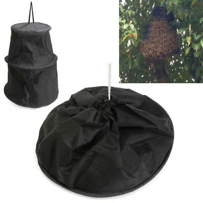3 Layers Beekeeping Tools Bee Cage To Catch With Bees Wild Recruit Black Large