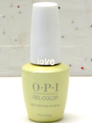 OPI GelColor New Gel Nail Polish Soak-Off GC G42 Meet A Boy Cute As Can Be