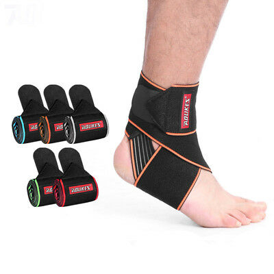 Adult Black Anti-slip Dancing Ankle Support Strap Ankle Sleeve Protection Gear