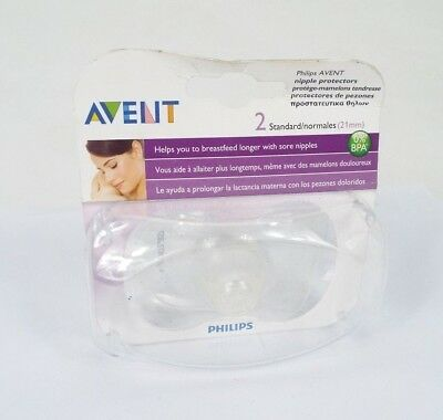 Philips AVENT Standard Nipple Protectors Shield Baby Breastfeeding Aid SCF156/01
