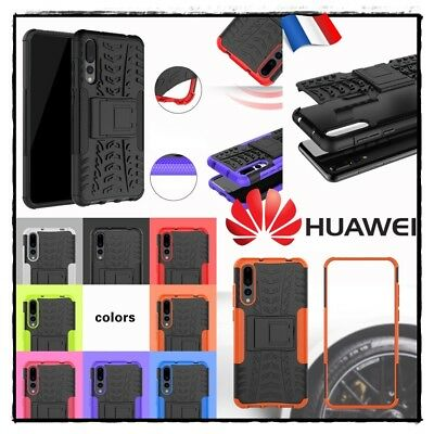 Etui Coque housse Antichocs Tyre Shockproof Hybrid Case cover Huawei P20 Pro